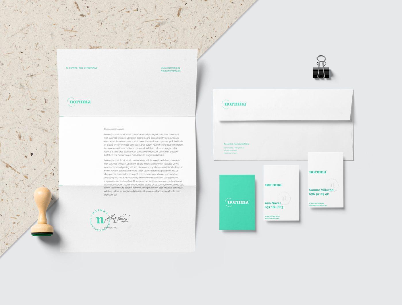 Normma Branding papeleria