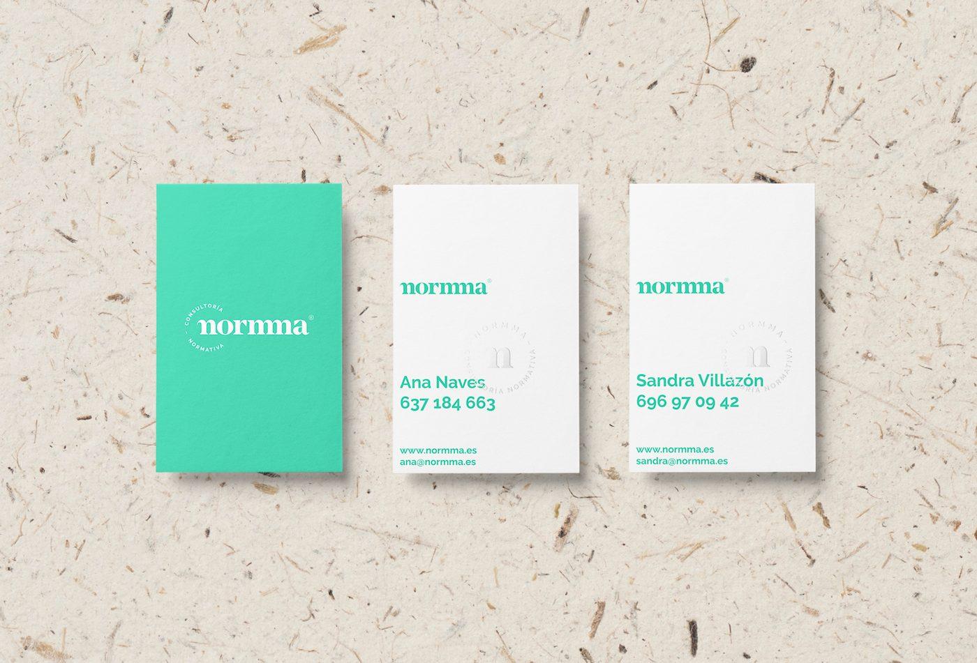 Normma tarjetas, identidad visual